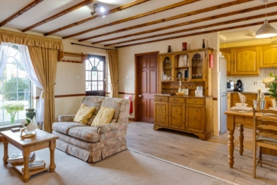 The Old Post Office Holiday Cottage Open Living Space