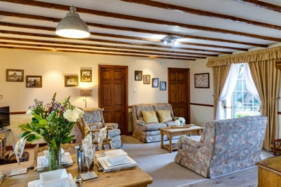 The Old Post Office Holiday Cottage open plan living