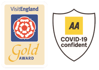 Visit England Gold Member and AA Covid-19 Confident